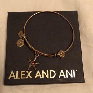 Alex and Ani Gold Star Fish Bracelet